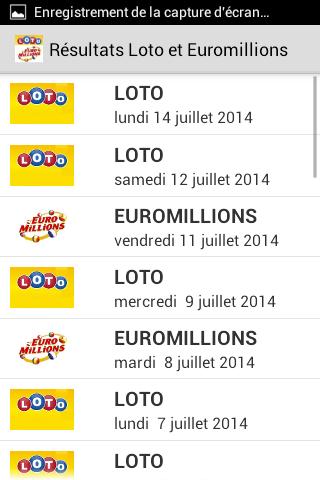 Loto et Euromillions