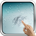 Fake iPhone Rain Wallpaper icon