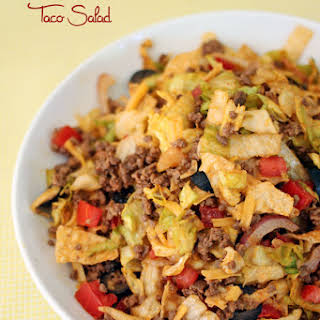 Chopped Taco Salad.