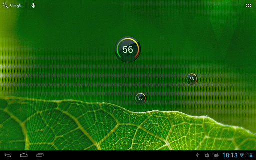 【免費工具App】Digital Circle Battery Widget-APP點子