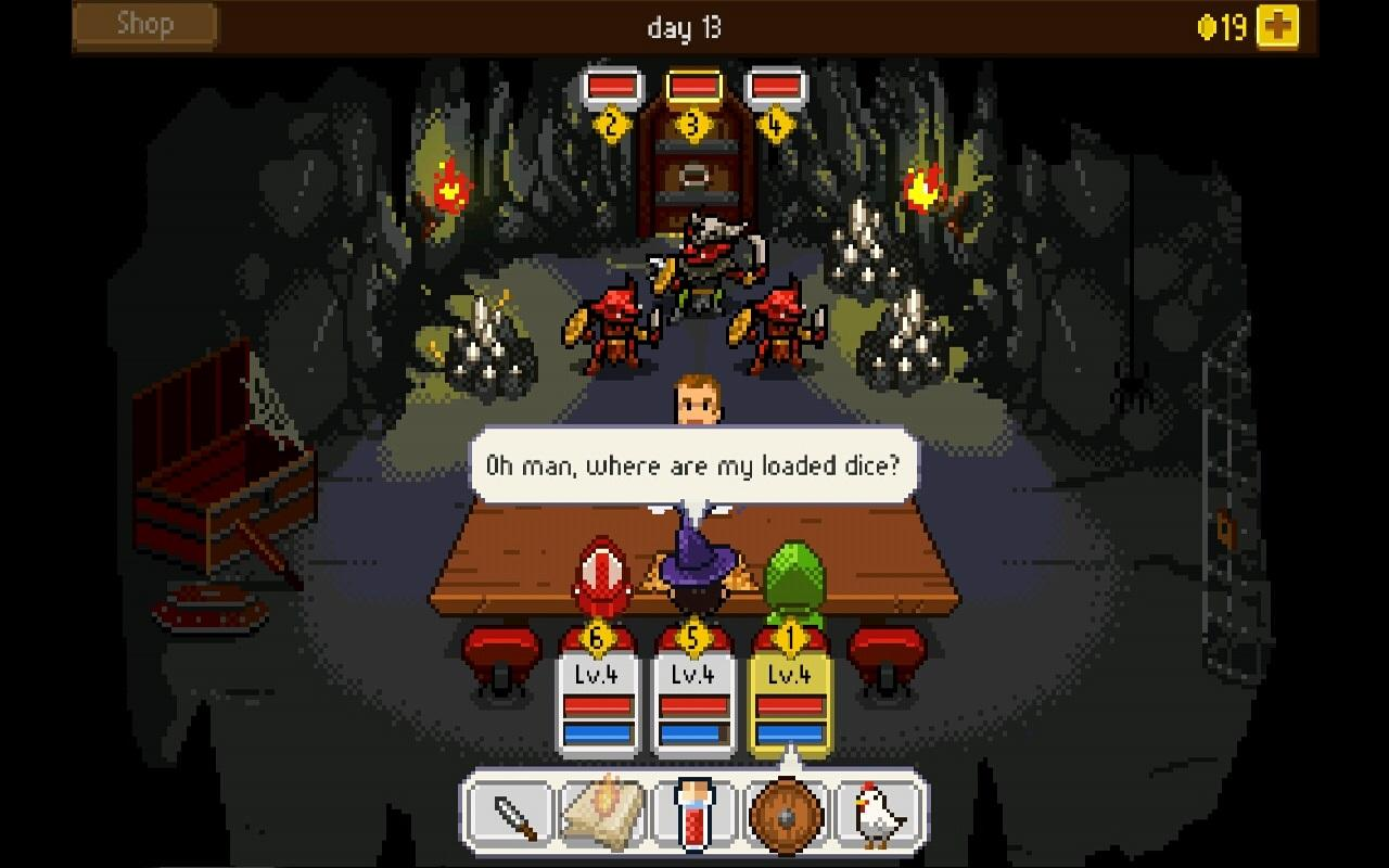 Knights of Pen & Paper +1- screenshot