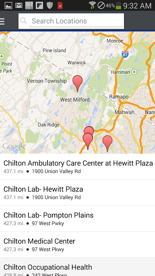 Be Well-Chilton Medical Center - screenshot