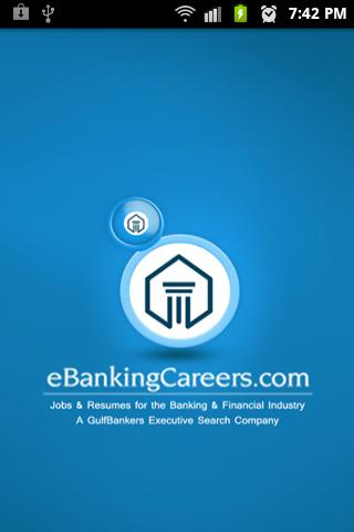 eBankingCareers.com - screenshot