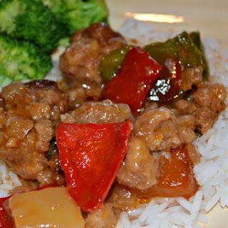Gluten Free Dairy Free Slow Cooker Sweet and Sour Meatballs.