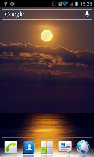 Moon HD Live Wallpaper