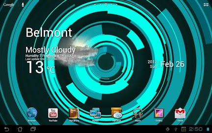 Holo Ring Live Wallpaper Screenshot 4