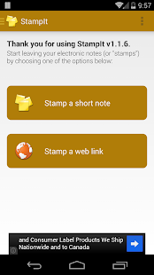 StampIt - screenshot thumbnail