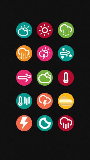 Chronus Flat Colors Icons