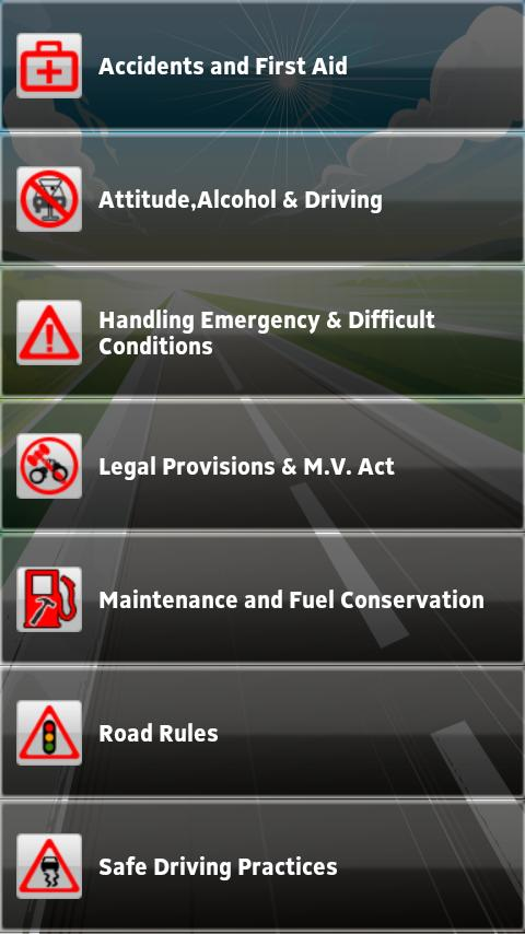 Driving Theory Test India- screenshot