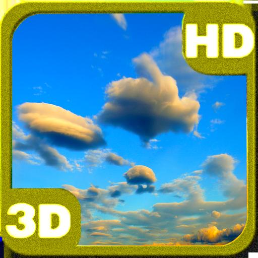 Galaxy S5 Evening Clouds 3D LOGO-APP點子