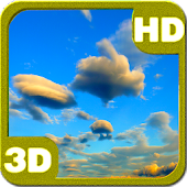 Galaxy S5 Evening Clouds 3D
