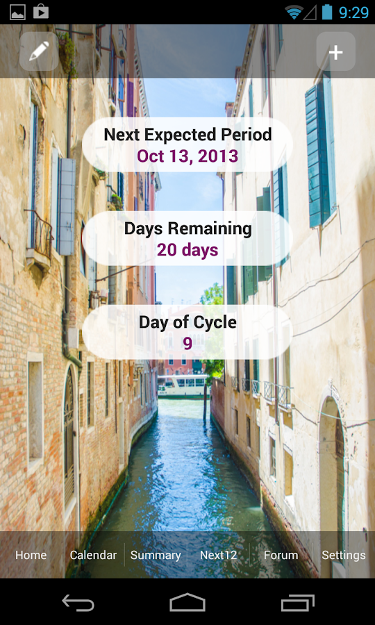 iPeriod Period Tracker - screenshot