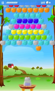 Apple Bubbles (bubble shooter) - screenshot thumbnail