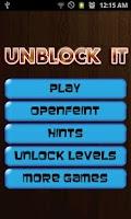 Screenshot of Unblock It - PRO