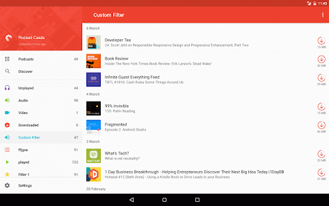Pocket Casts v5.0.1