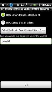 1x1 Ultimate Unread Widget- screenshot thumbnail