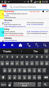 Calendar Pro/en - full version- screenshot thumbnail