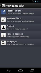 Wordfeud - screenshot thumbnail