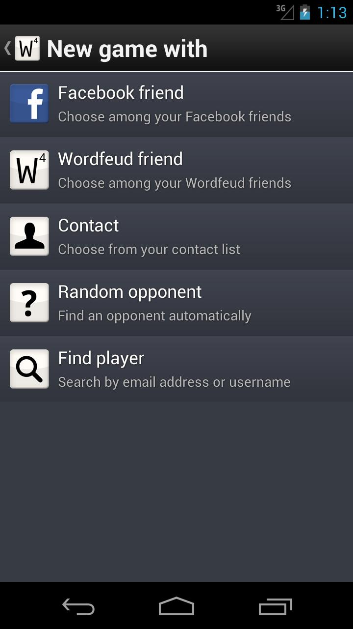 Wordfeud screenshot #5