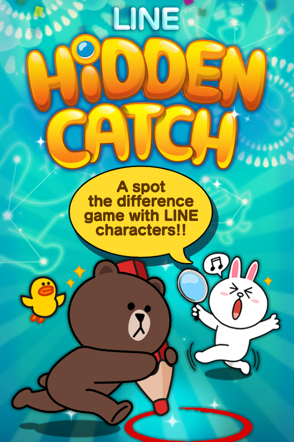 LINE HIDDEN CATCH - screenshot