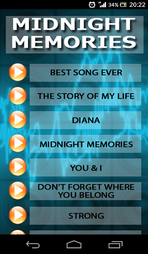 【免費娛樂App】Karaoke One Direction-APP點子