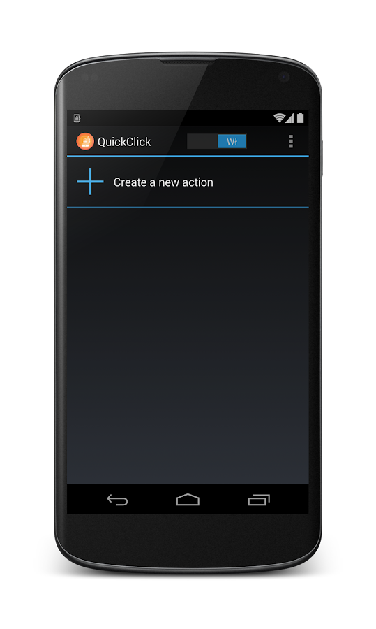 QuickClick - screenshot