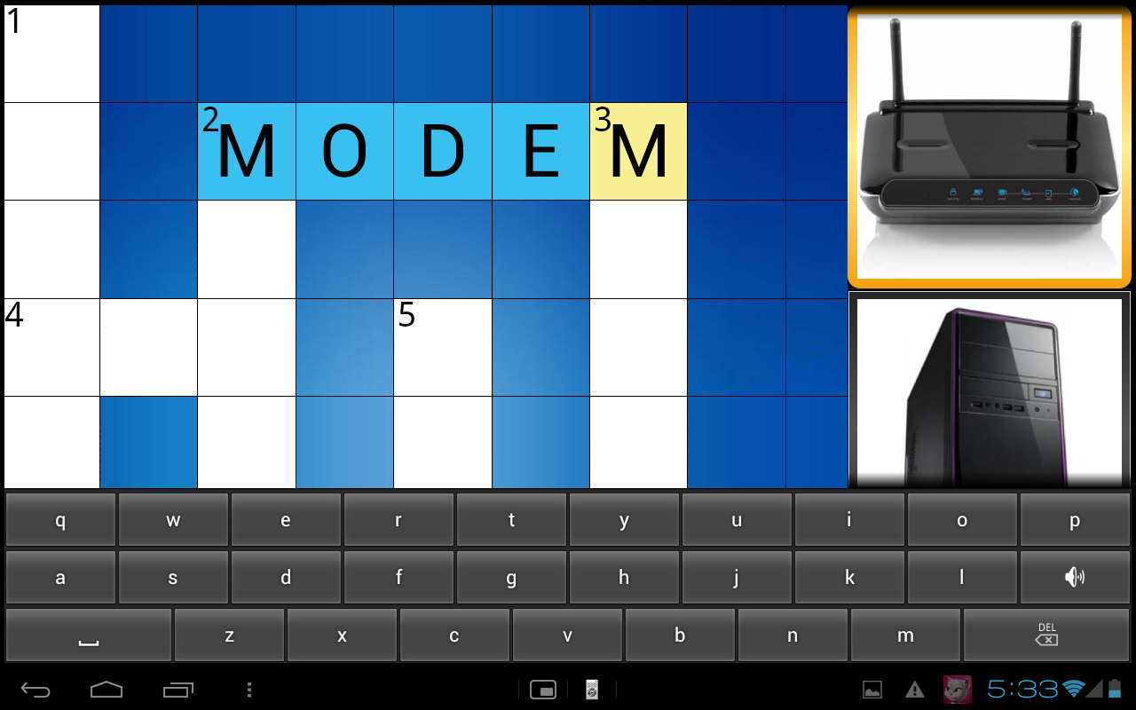 PICADO Kids Picture Crossword - screenshot