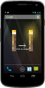 Super Flashlight LED Widget - screenshot thumbnail