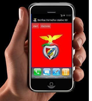 Benfica Vermelho Rotativo 3D