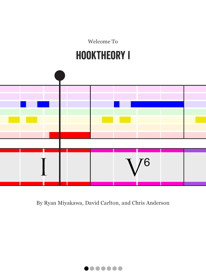 Hooktheory I- screenshot