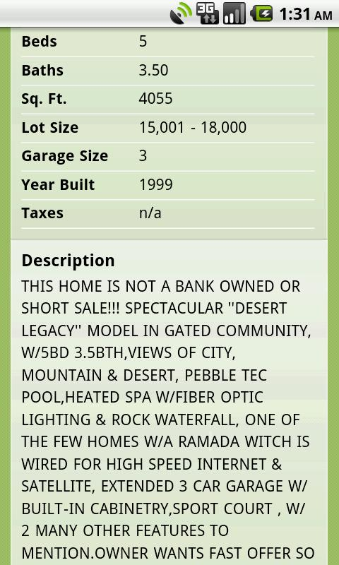 Scottsdale Phoenix Real Estate - screenshot