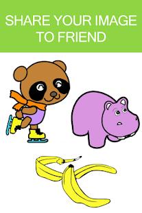 Cartoon Coloring Book Games Screenshot Thumbnail