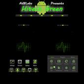HiTech Green Theme Go Launcher