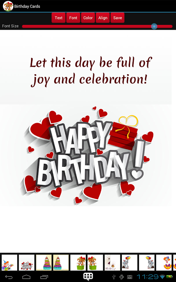 Birthday Cards Android Apps on Google Play – Birthday Card Font