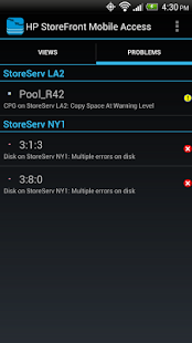 HP StoreFront Mobile Access - screenshot thumbnail