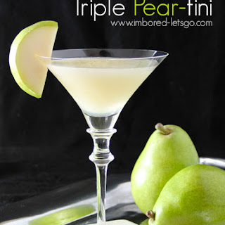 Triple Pear-tini
