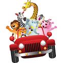 Safari 123 counting game icon