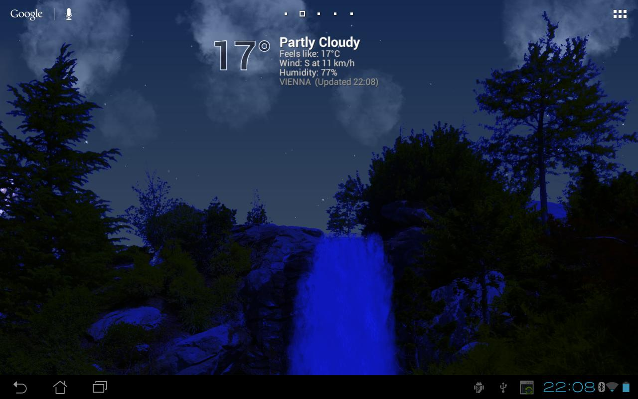 True Weather, Waterfalls - screenshot
