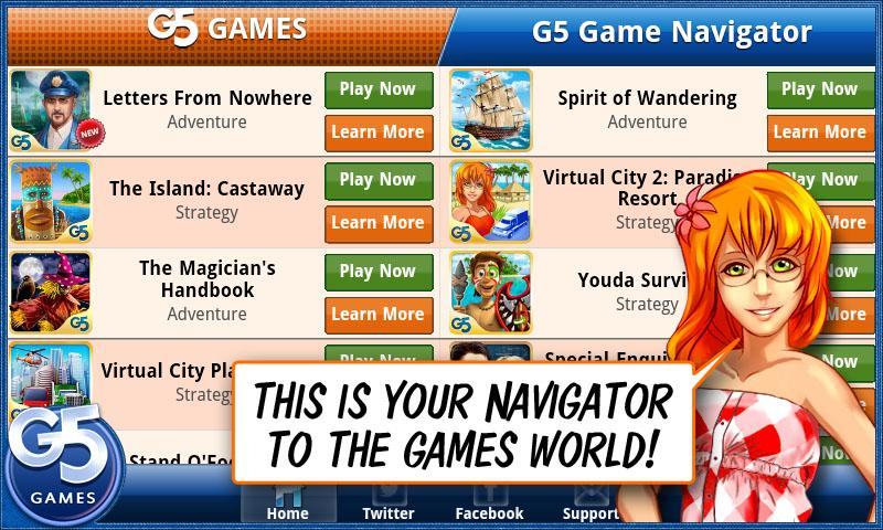 Games Navigator – By G5 Games - screenshot