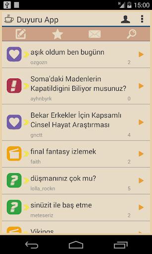Duyuru App