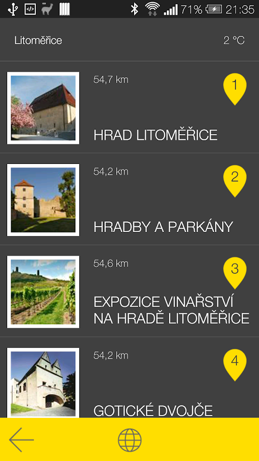Litoměřice - audio tour- screenshot