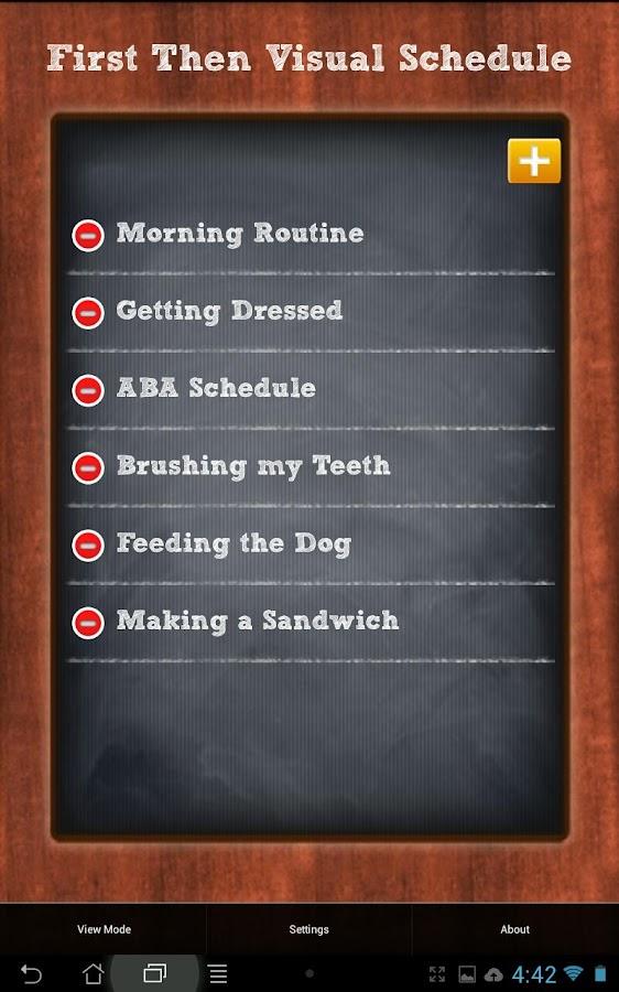 First Then Visual Schedule - screenshot