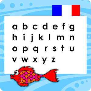 Red Fish French Alphabet