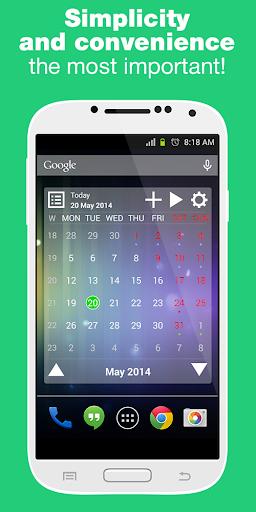 Calendar Widget Pro