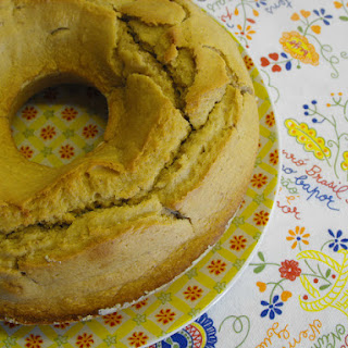 Yogurt Cake with Peanut Butter