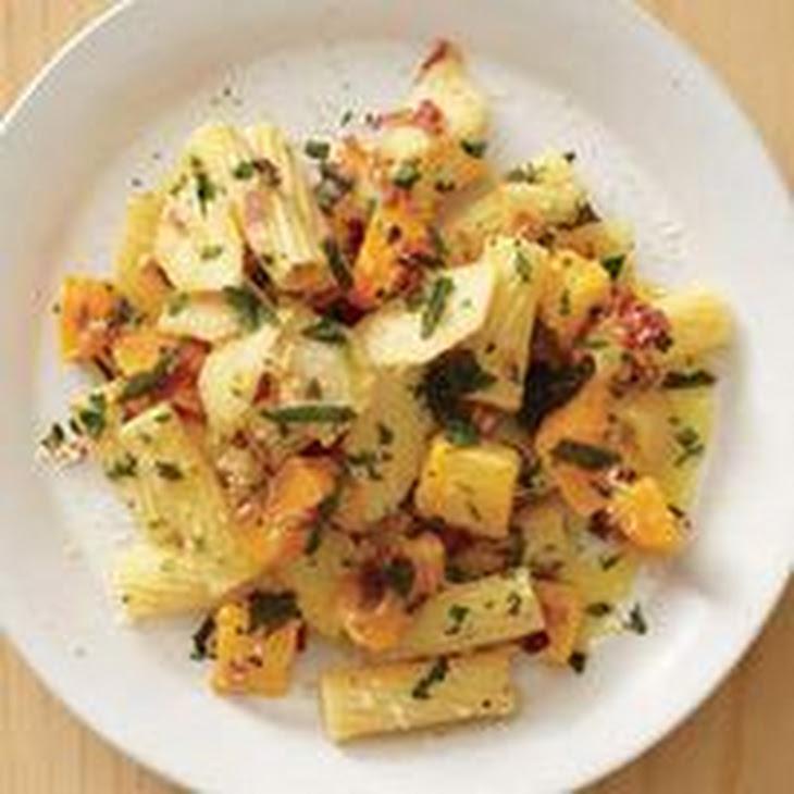 Rigatoni with Apple and Squash Recipe