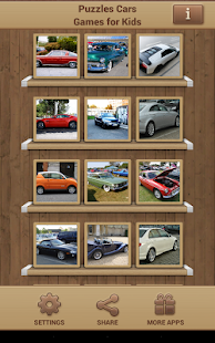 Puzzles Cars Games for Kids Screenshot 9