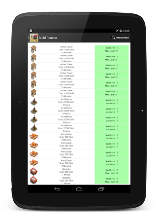 Planner for Clash of Clans 1.0.8 screenshot 97651