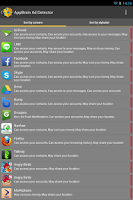 Screenshot of AppBrain Ad Detector