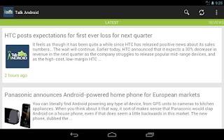 Screenshot of Talk Android
